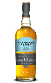 KNAPPOGUE CASTLE IRISH WHISKY SINGLE MALT 12 YEAR