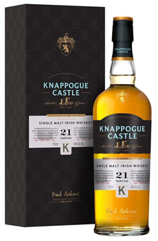 KNAPPOGUE CASTLE IRISH WHISKEY SINGLE MALT 21 YEAR
