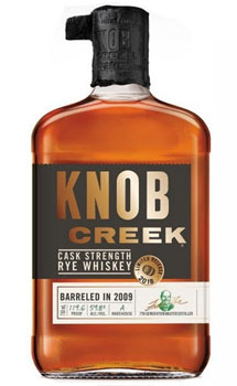 KNOB CREEK RYE WHISKEY CASK STRENGT