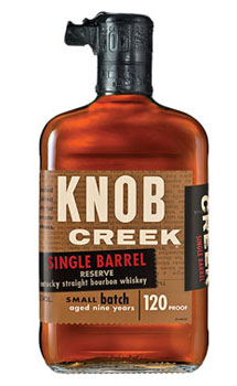 KNOB CREEK BOURBON SINGLE BARREL RE