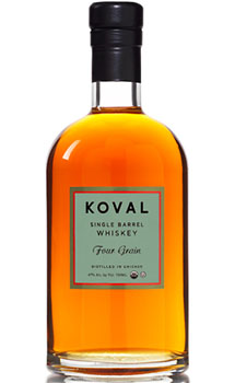 KOVAL WHISKEY FOUR GRAIN SINGLE BARREL