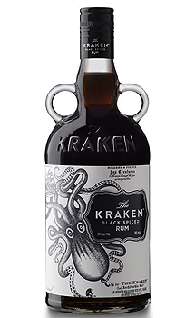 THE KRAKEN BLACK SPICED RUM - 1.75