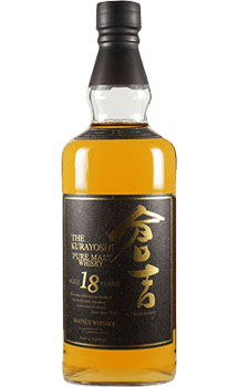 THE KURAYOSHI WHISKY MALT 18 YEAR O