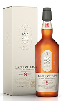 LAGAVULIN 8 YEAR OLD SINGLE MALT -
