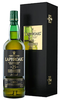 LAPHROAIG SCOTCH SINGLE MALT 25 YEA