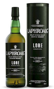 LAPHROAIG SCOTCH SINGLE MALT LORE -