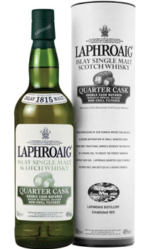 LAPHROAIG SCOTCH SINGLE MALT QUARTE
