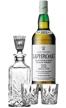 LAPHROAIG SCOTCH SINGLE MALT 10 YEA