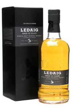 LEDAIG SCOTCH SINGLE MALT 10 YEAR O