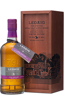 LEDAIG SCOTCH SINGLE MALT 1996 VINT