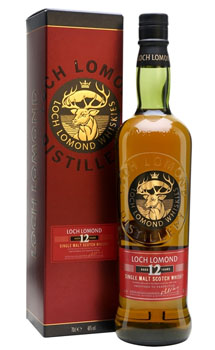 LOCH LOMOND SCOTCH SINGLE MALT 12 YEAR
