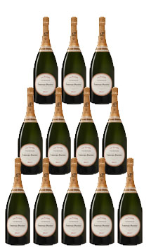 LAURENT PERRIER CHAMPAGNE BRUT LA CUVEE - CASE OF 24 BOTTLES 187ML