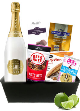 LUC BELAIRE LUXE CHAMPAGNE GIFT BAS
