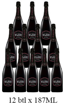LUC BELAIRE RARE ROSE - 187ML - 12 BOTTLES