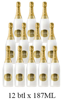 LUC BELAIRE RARE LUXE WHITE - 187ML- 12 BOTTLES