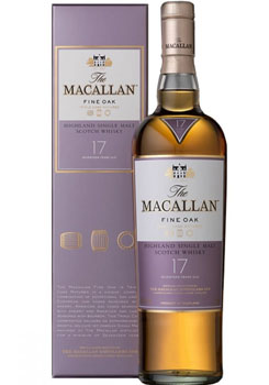 THE MACALLAN 17 YEAR OLD SINGLE MALT FINE OAK