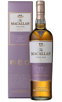THE MACALLAN 17 YEAR OLD SINGLE MALT FINE OAK - CUSTOM ENGRAVED