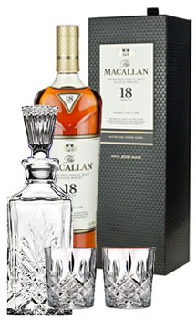 THE MACALLAN 18 YEAR OLD SINGLE MALT TRIPLE CASK COLLABORATION GIFT SET