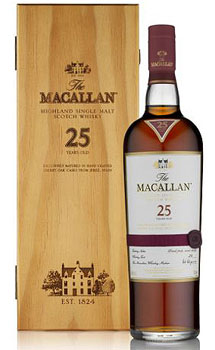 THE MACALLAN 25 YEAR OLD SINGLE MALT SHERRY OAK
