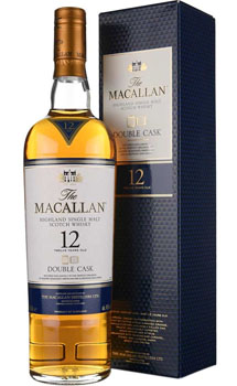 THE MACALLAN 12 YEAR OLD SINGLE MALT -750ML DOUBLE CASK