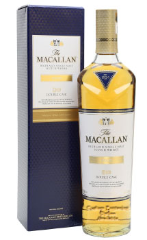 THE MACALLAN GOLD SCOTCH SINGLE MALT DOUBLE CASK -750ML CUSTOM ENGRAVED