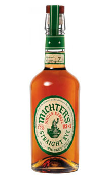 MICHTER'S RYE WHISKEY STRAIGHT SING