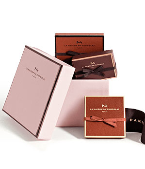 LA MAISON DU CHOCOLAT MINI HAT BOX