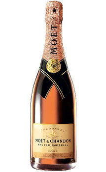 MOET & CHANDON CHAMPAGNE NECTAR ROSE IMPERIAL