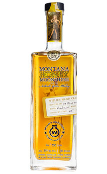 WILLIE'S DISTILLERY MONTANA HONEY M