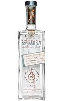 WILLIE'S DISTILLERY MONTANA MOONSHI