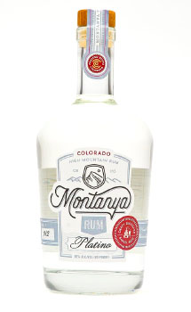 MONTANYA PLATINO LIGHT RUM - 750ML