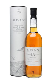 OBAN SCOTCH SINGLE MALT 18 YEAR - L