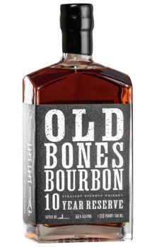 OLD BONES BOURBON 10 YEAR RESERVE