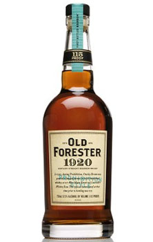 OLD FORESTER BOURBON 1920 PROHIBITI