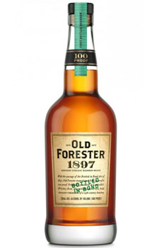 OLD FORESTER BOURBON BOTTLED IN BON