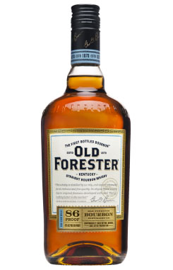 OLD FORESTER KENTUCKY STRAIGHT BOURBON WHISKEY - 86 PROOF - 750ML
