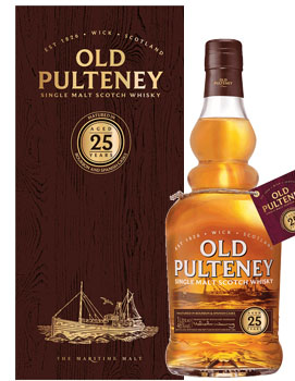 OLD PULTENEY SCOTCH SINGLE MALT 25