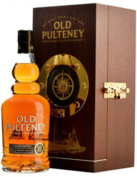 OLD PULTENEY SCOTCH SINGLE MALT 35