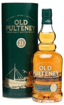 Old Pulteney Scotch Single Malt 21 Year Old