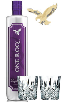 COCKTAIL MIX KIT WITH ONE ROQ VODKA LOGANBERRY