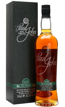 PAUL JOHN WHISKY SINGLE MALT PEATED SELECT CASK