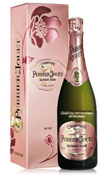 PERRIER JOUET CHAMPAGNE BLASON ROSE - CUSTOM ENGRAVED