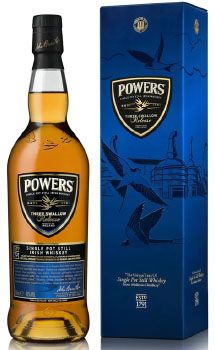 POWERS IRISH WHISKEY THREE SWALLOW
