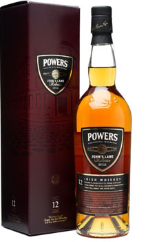 POWERS IRISH WHISKEY 12 YEAR JOHN'S LANE RELEASE