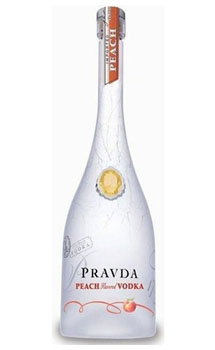 PRAVDA VODKA PEACH -750ML