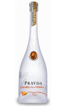 PRAVDA VODKA CARAMEL - 750ML