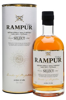 RAMPUR WHISKY SINGLE MALT DOUBLE CA