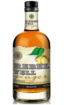 REBEL YELL WHISKEY GINGER