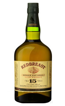 REDBREAST IRISH WHISKEY 15 YEAR