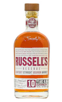 RUSSELL'S RESERVE BOURBON 10 YEAR O
